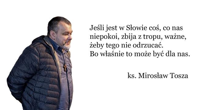 ks. Mirosław Tosza wywiad