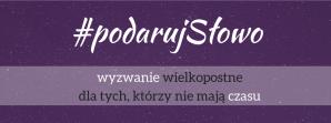 #podarujSłowo -banner kwadrat